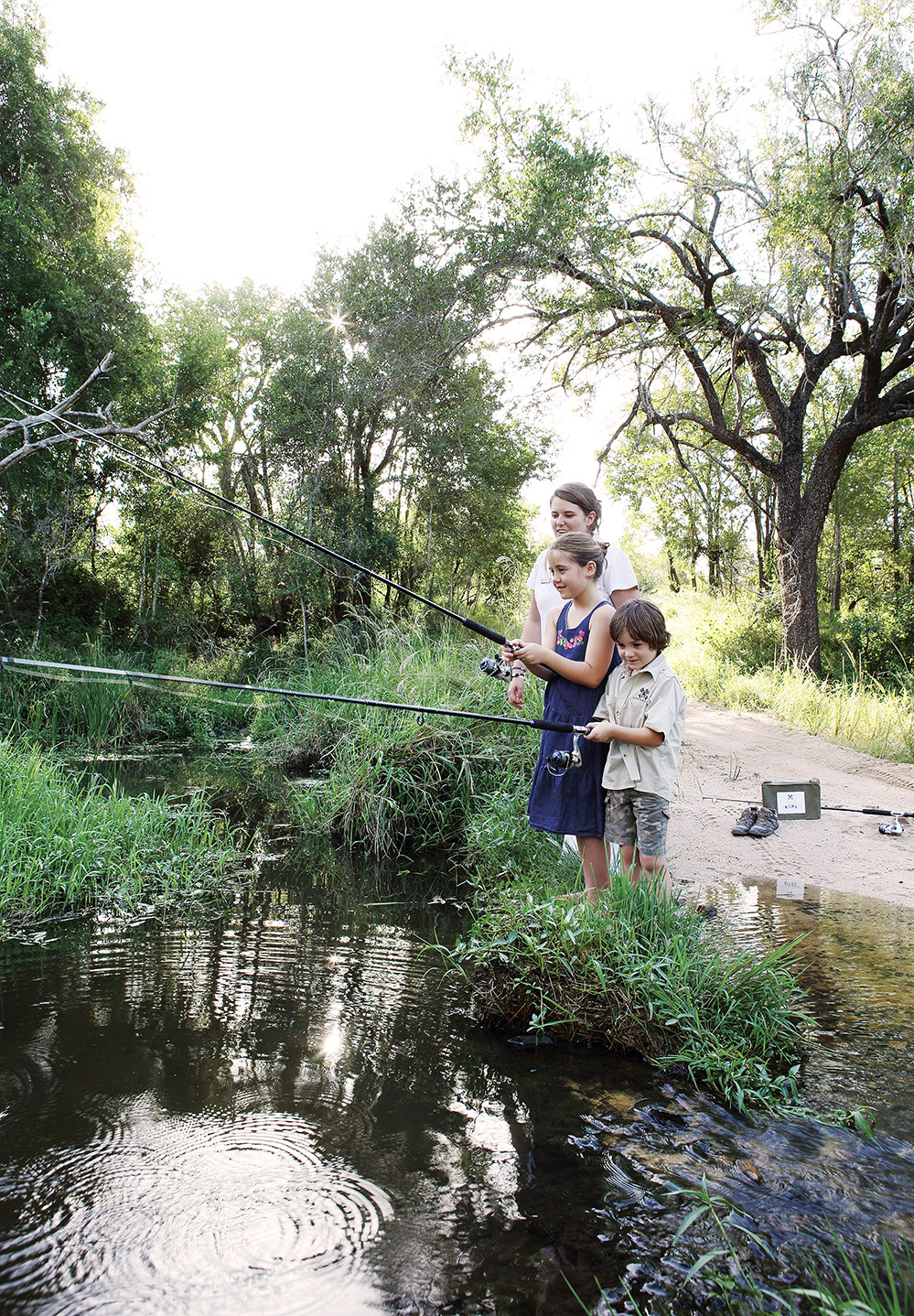 Londolozi Kids Program Fishing